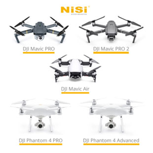 Nisi Drone Filters