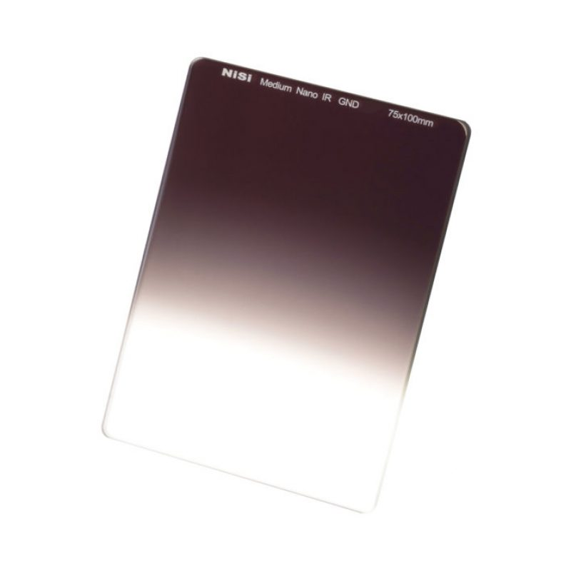 NiSi 75x100mm (M75) Nano IR Medium Graduated ND Filter