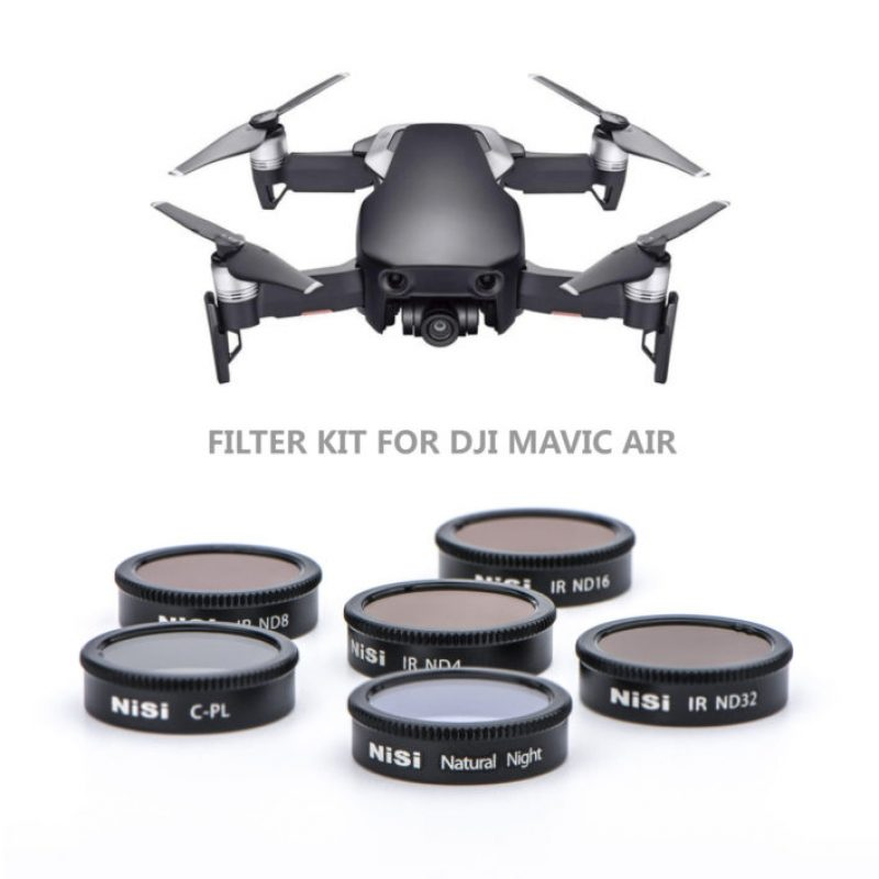 NiSi DJI Mavic Air Filter Kit (6 Filters)