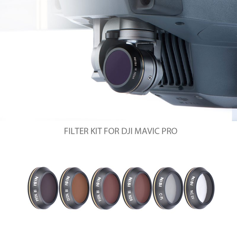 NiSi DJI Mavic Pro Filter Kit (6 Filters)