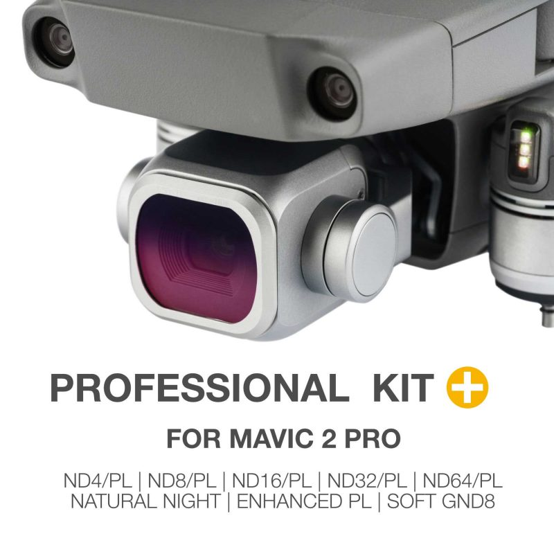 NiSi DJI Mavic Pro 2 Professional Filter Kit PLUS (8 Filters)