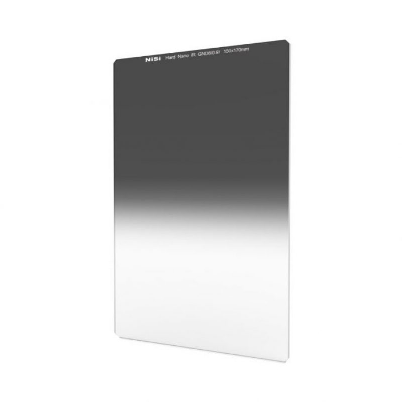 NiSi 150x170mm Nano IRGND8 3 STOP Hard Graduated Neutral Density Filter