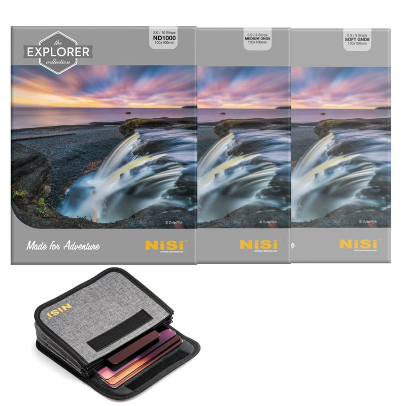 NiSi 100mm Explorer Nano IR Filters Kit