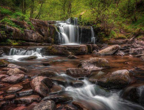Shooting Waterfalls